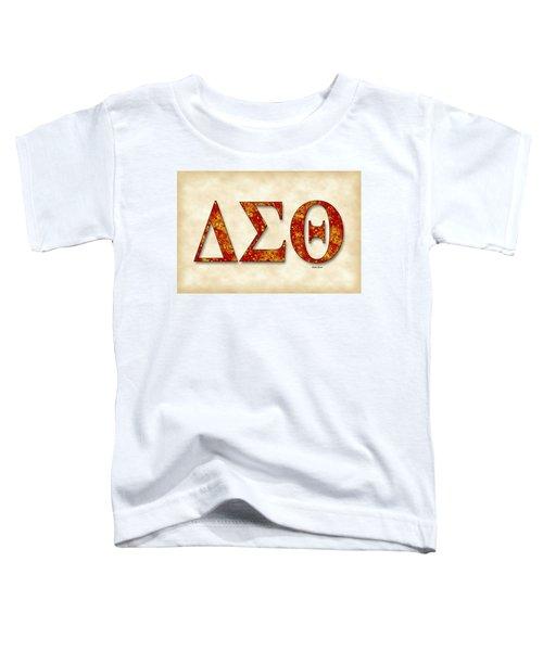 Delta Sigma Theta - Parchment Toddler T-Shirt