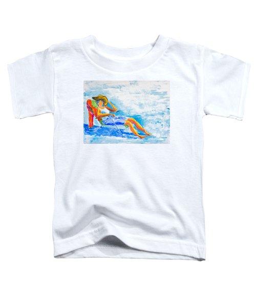 Dena At The Beach Toddler T-Shirt