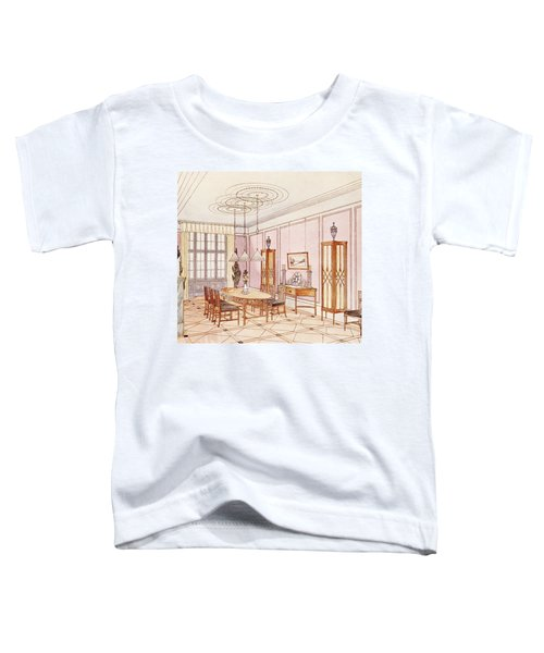 Design For A Dining Room Toddler T-Shirt