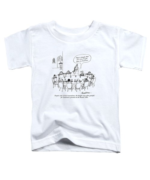 Despite Some Initial Reservations Toddler T-Shirt by J.B. Handelsman