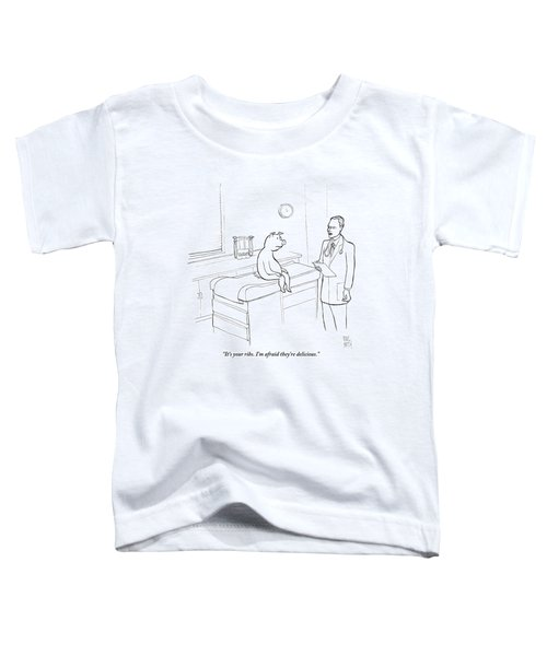 Doctor To Pig Toddler T-Shirt by Paul Noth