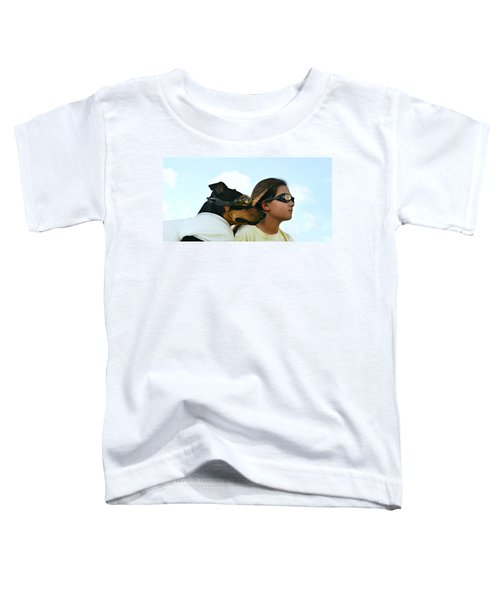 Dog Is My Co-pilot Toddler T-Shirt