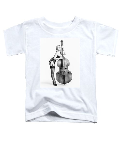 Doghouse With Mosh - String Bass Baby   Toddler T-Shirt
