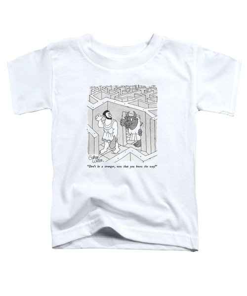 Don't Be A Stranger Toddler T-Shirt