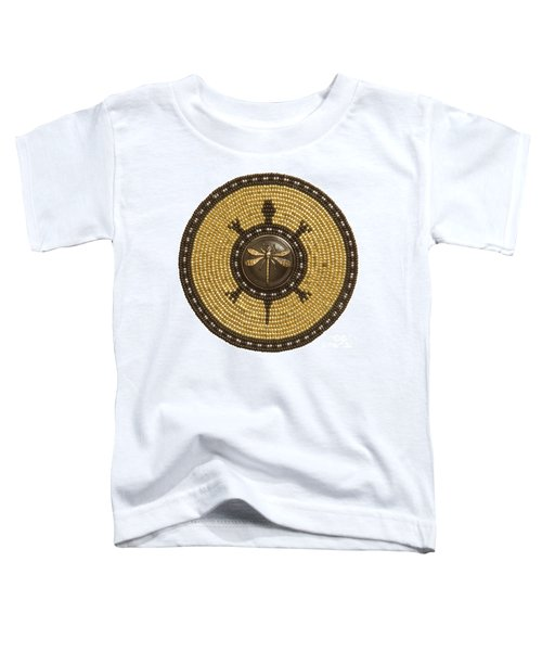 Dragonfly Turtle Toddler T-Shirt