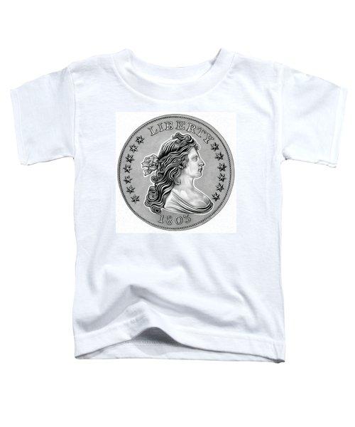 Draped Bust Liberty Toddler T-Shirt