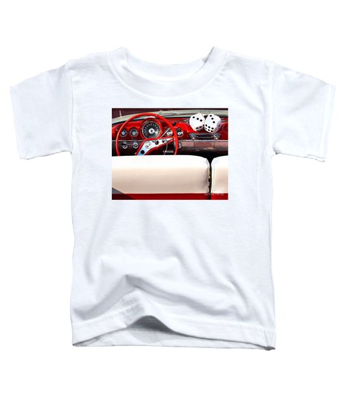 Drive-in Lounge - 1960 Chevy Toddler T-Shirt