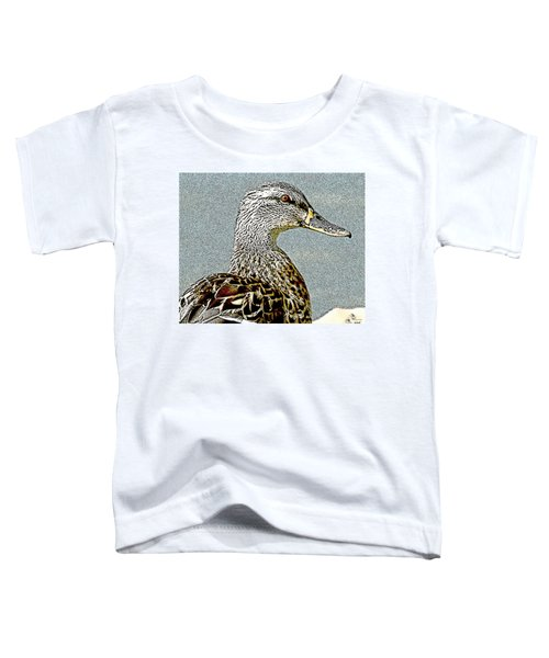 Duck Art Tribal Mallard II Toddler T-Shirt