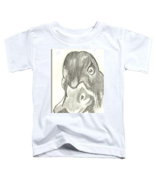 Duck Bill In Pencil Toddler T-Shirt