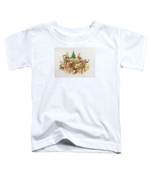 Ducks Christmas Toddler T-Shirt