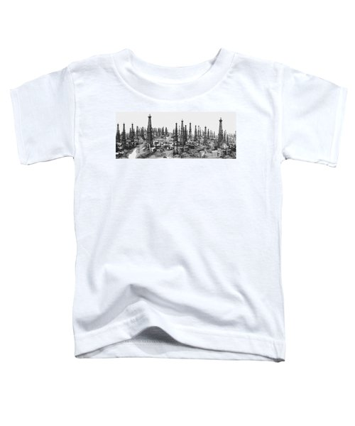 Early Oil Field Toddler T-Shirt