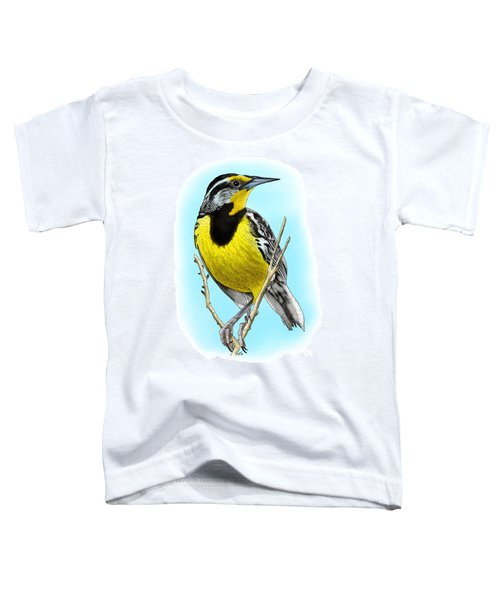 Eastern Meadowlark Toddler T-Shirt