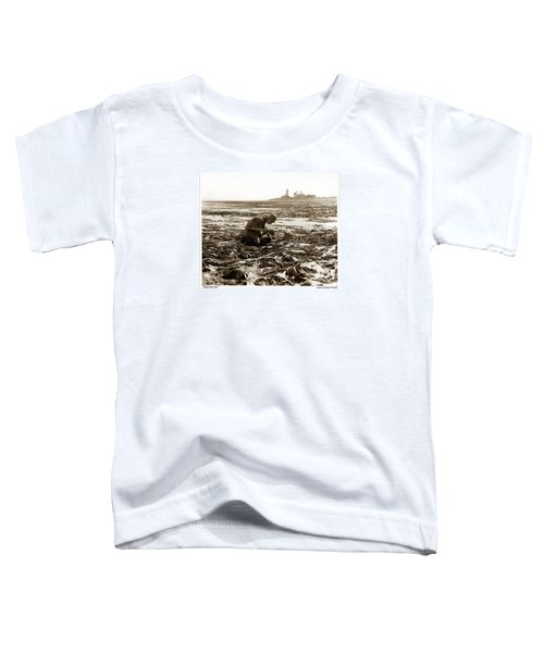 Ed Ricketts At Point Wilson Lighthouse In Port Townsend Wa July 1930 Toddler T-Shirt