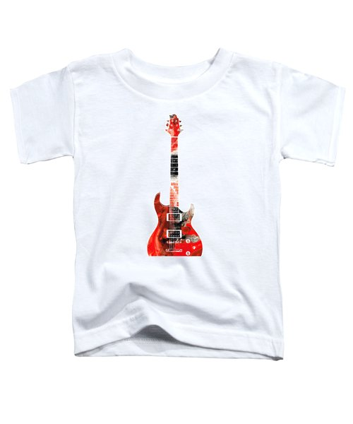 Electric Guitar - Buy Colorful Abstract Musical Instrument Toddler T-Shirt