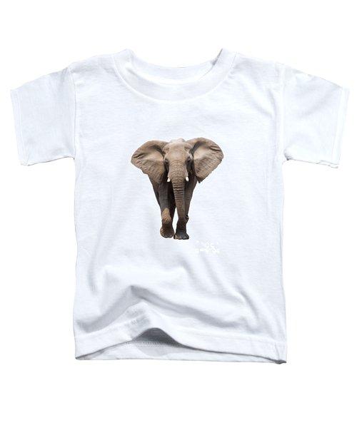 Elephant Isolated Toddler T-Shirt