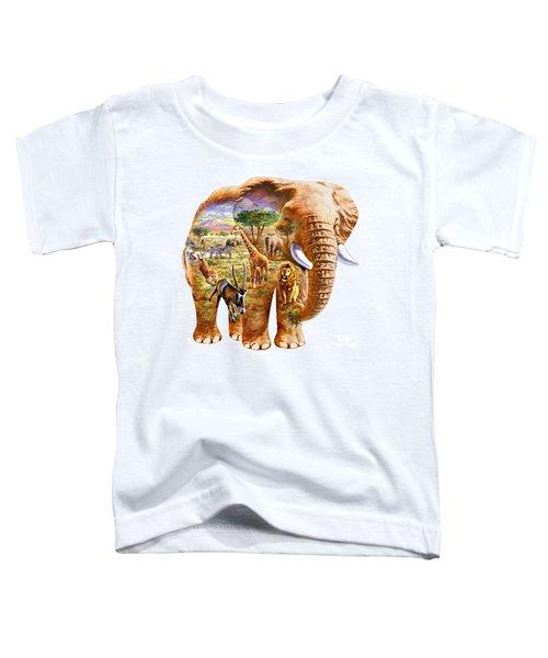 Elephant Puzzle Toddler T-Shirt