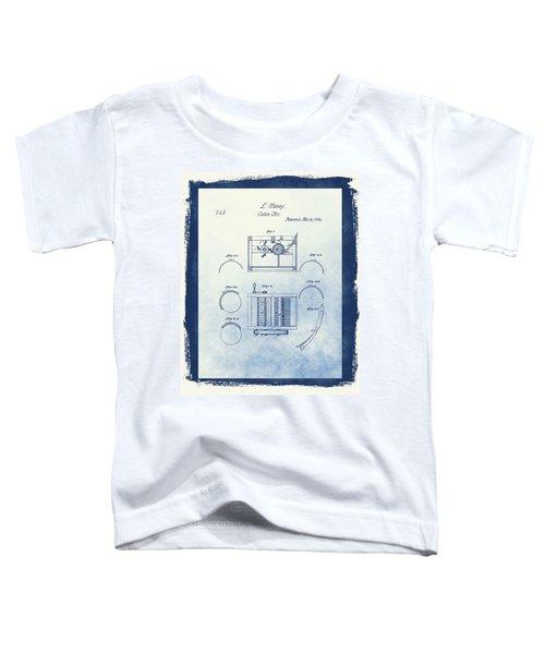 Eli Whitney's Cotton Gin Patent Toddler T-Shirt