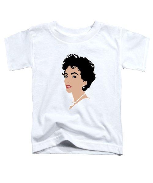 Elizabeth Toddler T-Shirt by Douglas Simonson