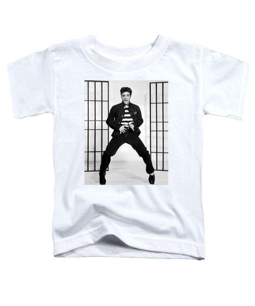 Elvis Presley In Jailhouse Rock 1957 Toddler T-Shirt