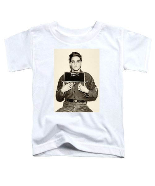 Elvis Presley - Mugshot Toddler T-Shirt