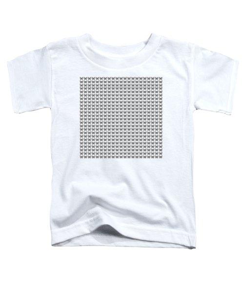 Endless Butterflies On White Toddler T-Shirt