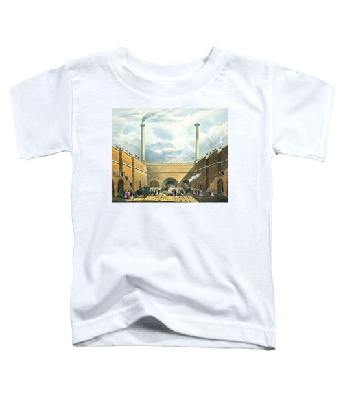 Entrance Of The Railway At Edge Hill Toddler T-Shirt