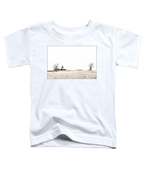 Ethereal Wintry Scene Toddler T-Shirt