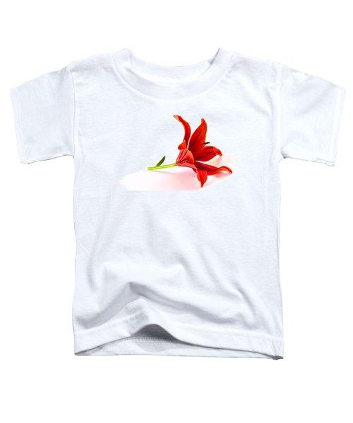 Fallen Tiger Lily Toddler T-Shirt