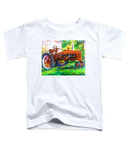 Farmall Tractor Toddler T-Shirt