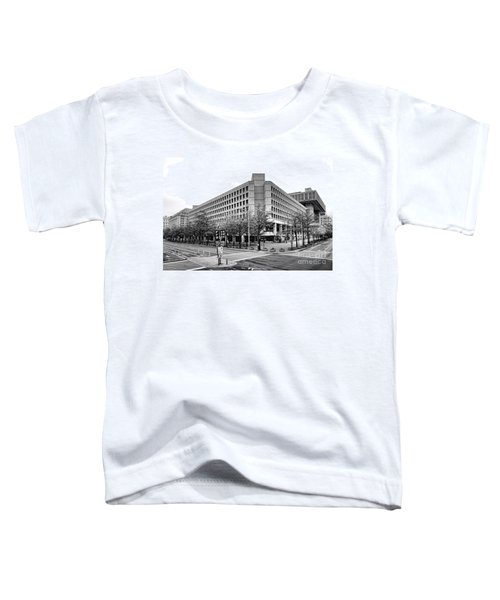 Fbi Building Front View Toddler T-Shirt