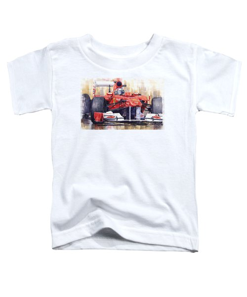 2011 Ferrari 150 Italia Fernando Alonso F1   Toddler T-Shirt