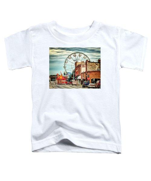 Ferris Wheel In Winona Toddler T-Shirt
