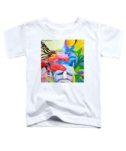 Fiji Dreams - Original Watercolor Painting Toddler T-Shirt