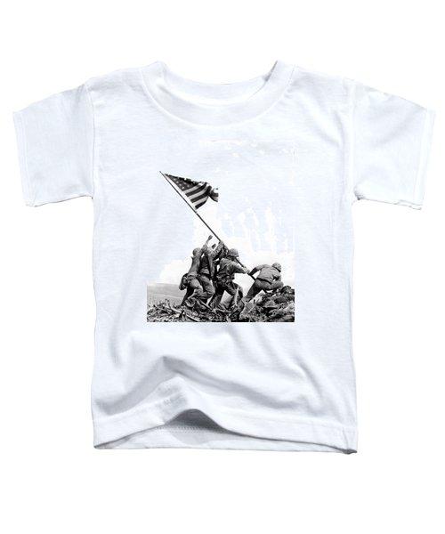 Flag Raising At Iwo Jima Toddler T-Shirt