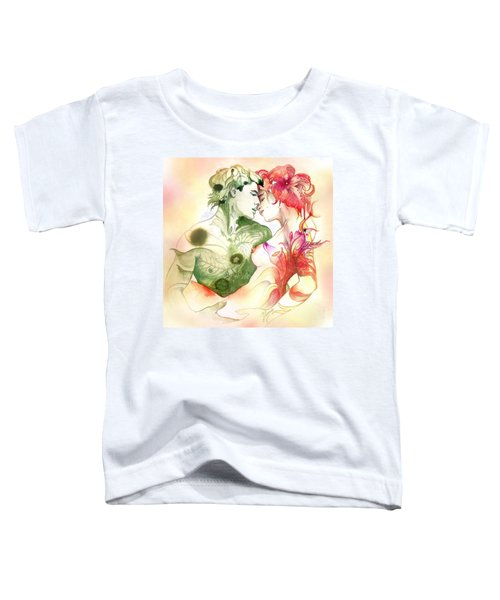 Flower And Leaf Toddler T-Shirt