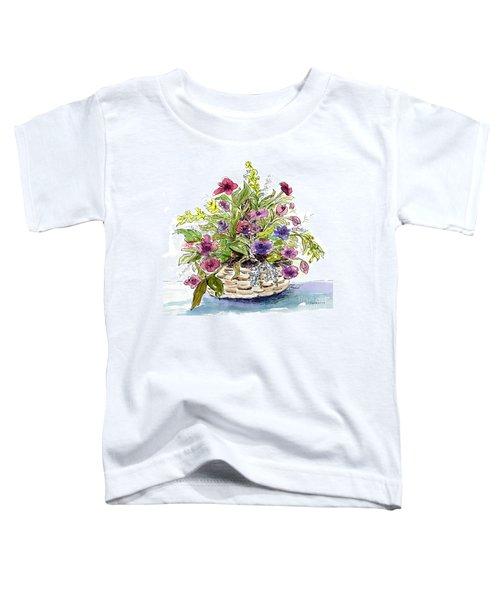 Flower Basket I Toddler T-Shirt