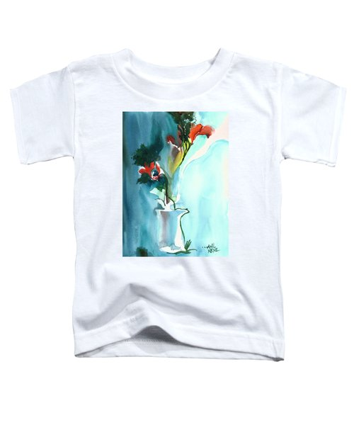 Flowers In Vase Toddler T-Shirt