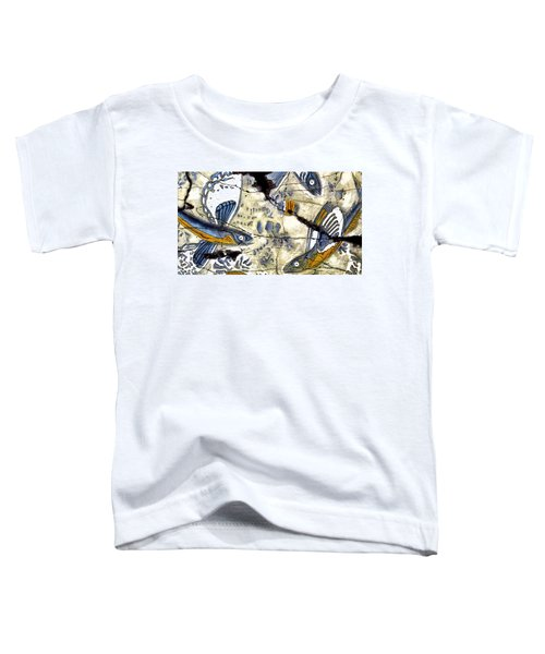 Flying Fish No. 3 - Study No. 2 Toddler T-Shirt