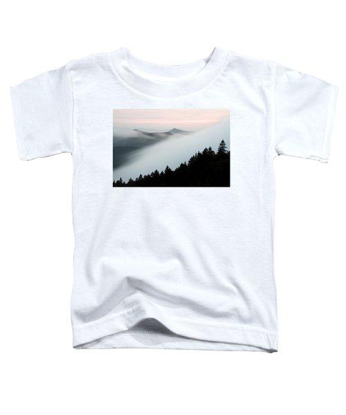 Fog On The Mountain Toddler T-Shirt