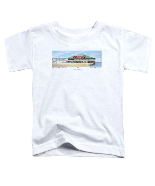 Folly Beach Original Pier Toddler T-Shirt
