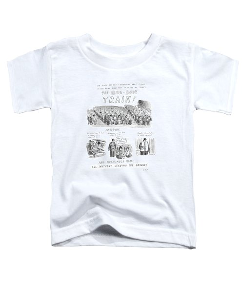 For People Who Enjoy Everything About Flying Toddler T-Shirt