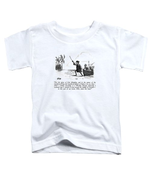 For The Glory Of God Almighty Toddler T-Shirt