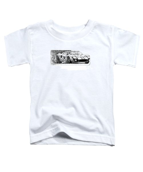 Ford Gt - 40 Toddler T-Shirt