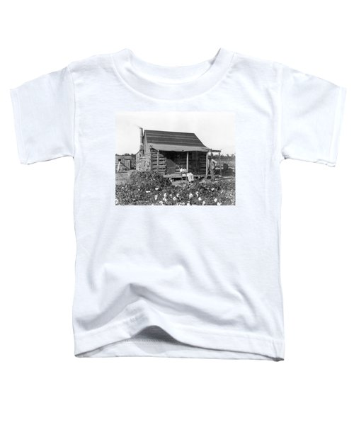 Former Slaves At Their Cabin Toddler T-Shirt