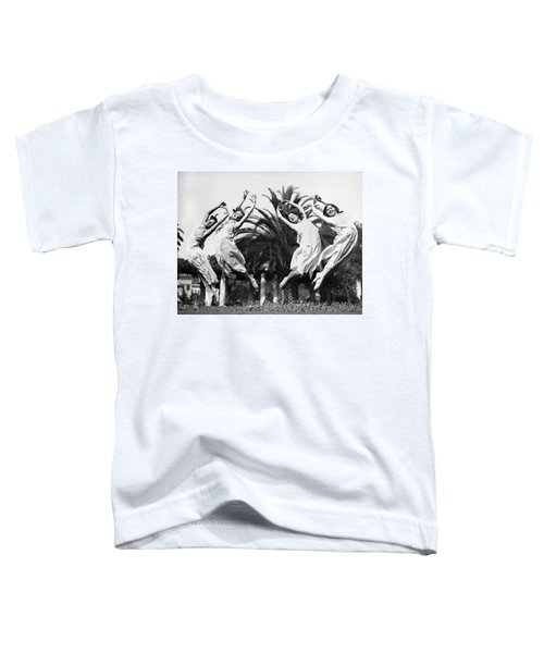 Four Leaping Grecian Dancers Toddler T-Shirt