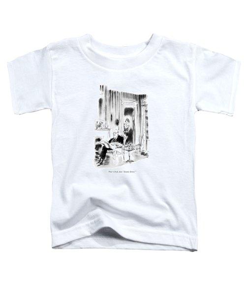 Four O'clock Toddler T-Shirt