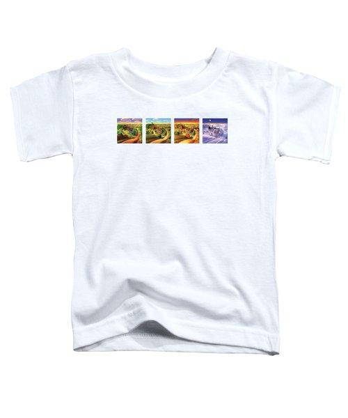 Four Seasons On The Farm Toddler T-Shirt