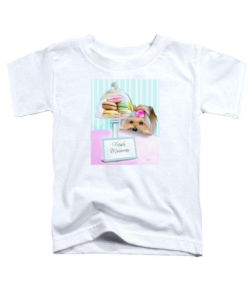 French Macarons Toddler T-Shirt