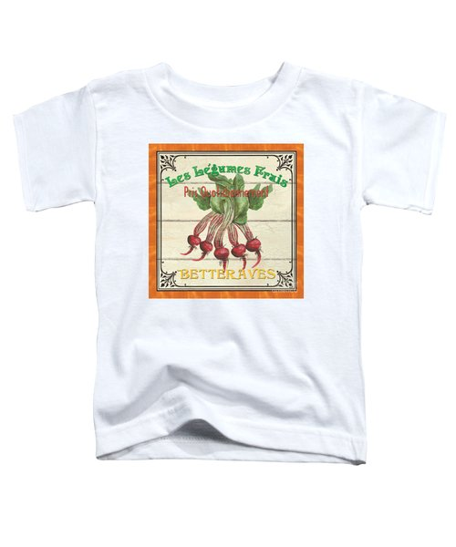 French Vegetable Sign 4 Toddler T-Shirt