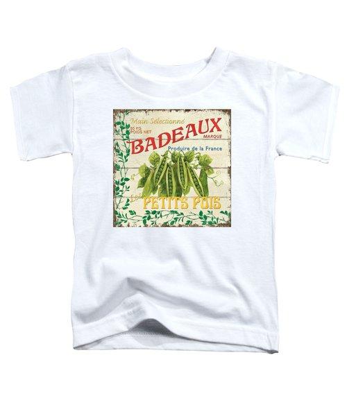 French Veggie Sign 1 Toddler T-Shirt